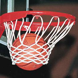 Korb- und Basketballnetze