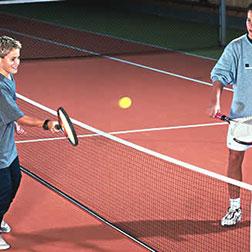 Kinder-Tennisnetze mit Pfosten