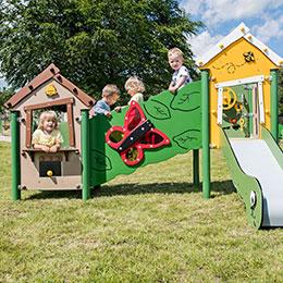 Spielanlagen für Kleinkinder