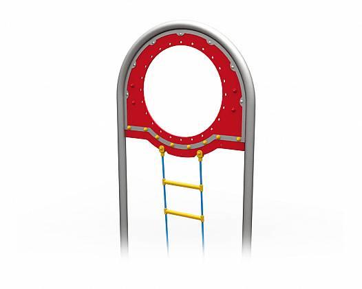 Langer Bogeneinstieg mit Strickleiter