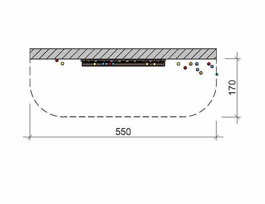 Kugelbahn (Wandmontage)