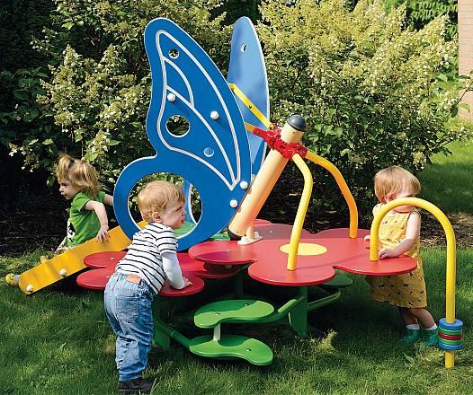 Klettergerüst für Kleinkinder Schmetterling