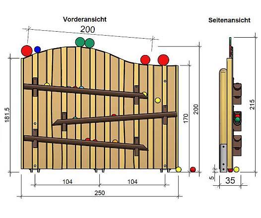 Kugelbahn (freistehend)