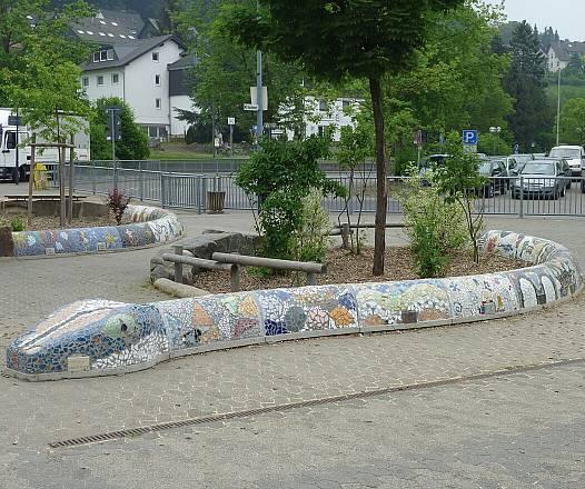 Schwanz-Rohling f. Mosaikschlange