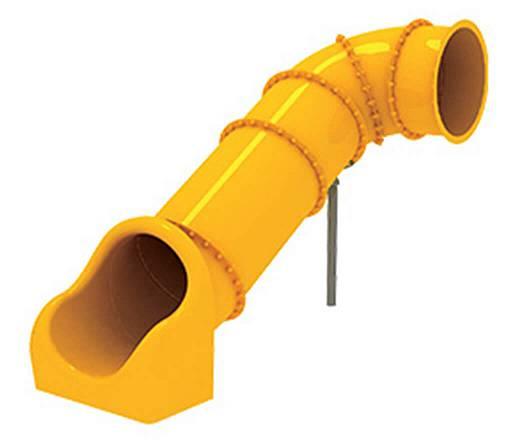 Röhrenrutsche Podesthöhe: 135 cm