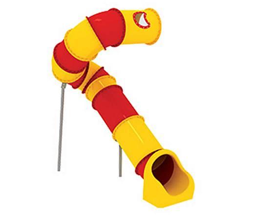 Röhrenrutsche Podesthöhe: 317 cm