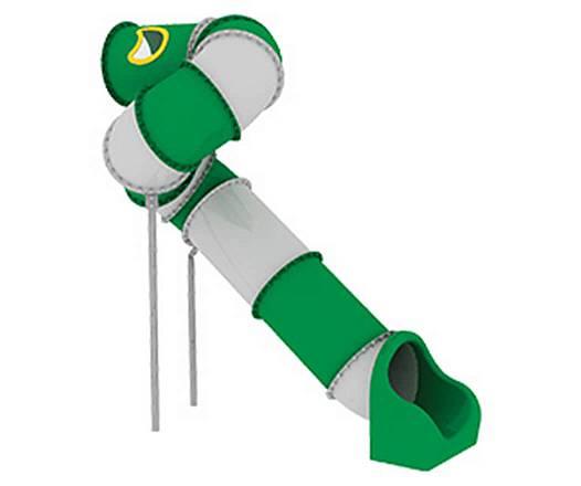 Röhrenrutsche Podesthöhe: 300 cm