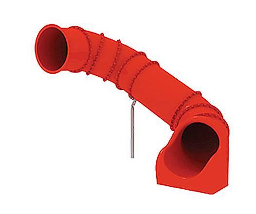 Röhrenrutsche Podesthöhe: 165 cm