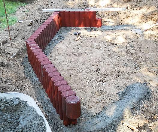 Sandkastenumrandung Kettenelement