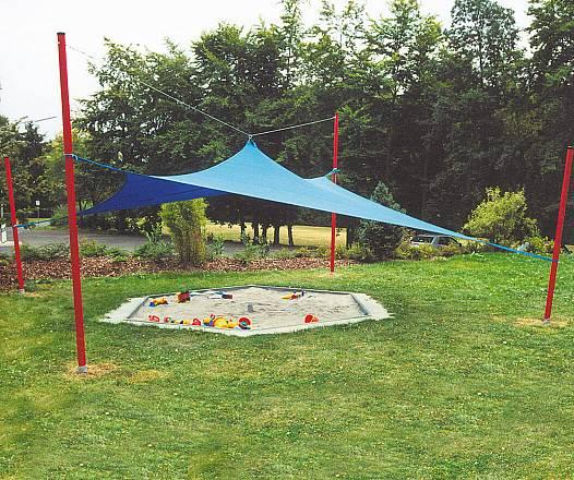 Sonnen-Pavillon-Abdeckkombination