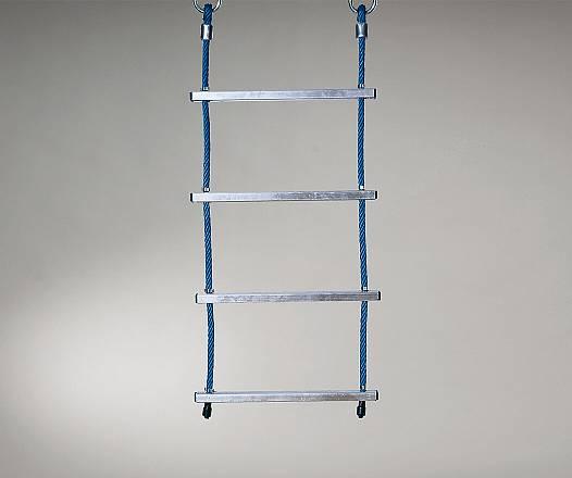 Strickleiter mit Aluminiumsprossen