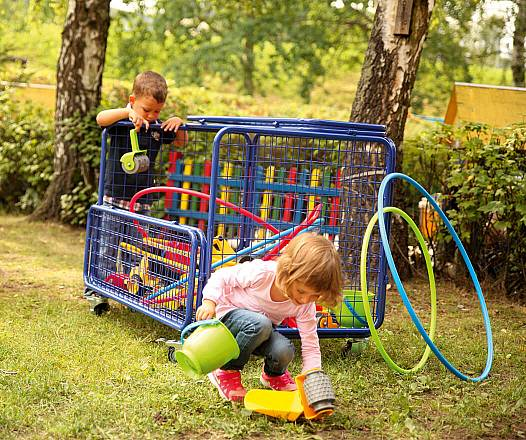 Kinderfahrzeug Transportwagen