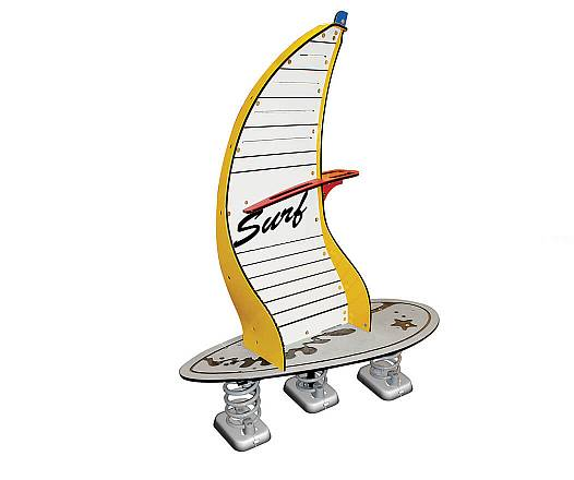 Federspielgerät Windsurfer