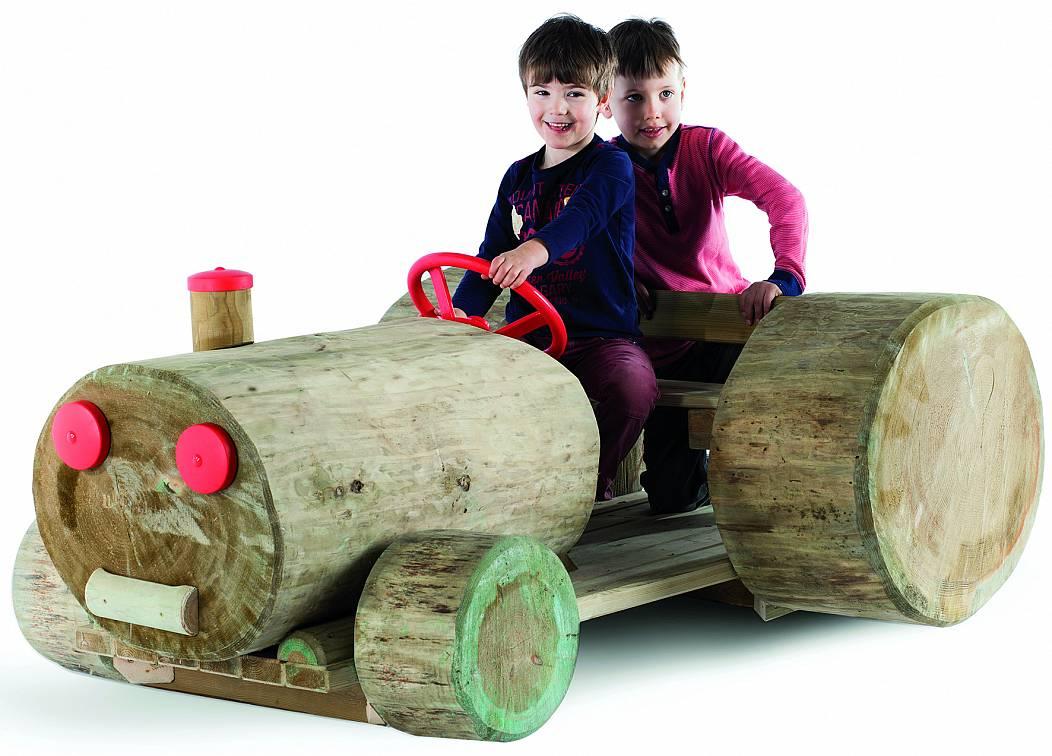 Klettergerüst Traktor : Traktor bulldog hst spielgeräte