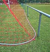 Kettenbeschwerung für Tornetze