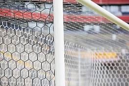 Kameraoptimiertes Handballtornetz mit wechselnder Farbmusterung 2-seitig (1 Paar)
