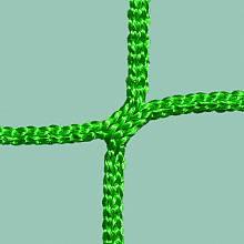 Hallenhandball-Tornetze aus Polypropylen (1 Paar), ca. 3 mm stark, hochfest, knotenlos, Maschenform/-weite quadratisch 10 cm