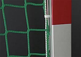 Hallenhandball-Tornetze Exklusiv aus Polypropylen (1 Paar), hochfest, ca. 4 mm stark