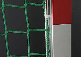 Hallenhandball-Tornetze Exklusiv aus Polypropylen,  (1 Paar), hochfest, ca. 5 mm stark