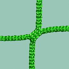 Hallenhandball-Tornetz (1 Paar) aus Polypropylen, ca. 4 mm stark, Maschenform/-weite quadratisch 10 cm, obere/untere Tiefe 0,80 x 2 m