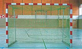 Hallenhockey-Tornetz (1 Paar) aus Polypropylen hochfest, ca. 5 mm stark, Maschenweite 45 mm