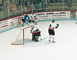 Eishockey-Tornetze aus Polyester 4 mm