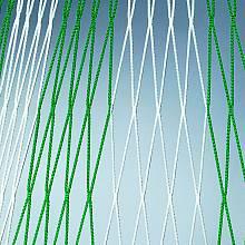 Jugend-Fußballtornetz (1 Paar) aus Polypropylen, hochfest, ca. 4 mm stark, Maschenform quadratisch 120 mm, 1- oder 2-farbig