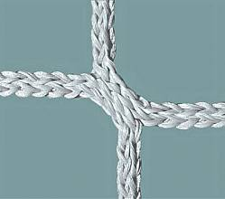 Jugend-Fußballtornetz (1 Paar) aus Polypropylen, hochfest, ca. 5 mm stark, Maschenform quadratisch 120 mm
