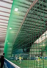 Ballstopp-Netz für Indoor Soccer, aus Polypropylen, Ø 2,3 oder 5 mm stark, Maschenweite 100 mm