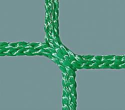 Schutznetz aus Polypropylen, flammhemmend, 5 mm stark, MW 100 mm