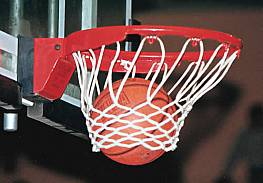 Anti-Whip-Basketball-Netz aus Polyester-Flechtleine 6 mm