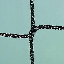 Volleyball-Trainingsnetz, Polypropylen ca. 3 mm stark, mit Stahlseil 4 mm stark (STARKE AUSFÜHRUNG), 9,50 m lang