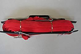 Beach-Volleyball-Spielfeldmarkierung 9 x 18 m (nicht verstellbar), aus 25 mm breitem Gurtband, rot