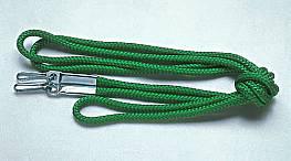 Schleppleine für Tennis-Schleppnetze, 3,50 m lang, grün