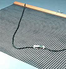 Tennisschleppnetz komplett, 3 mm stark - einlagig, Maschenweite: 2 x 2 cm