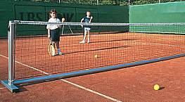 Kinder-Tennisnetz, 2,3 mm stark, 0,80 x 6 m