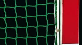 Hallenhockey-Tornetz (1 Paar) aus Polypropylen hochfest, ca. 2,5 mm stark, Maschenweite 25 mm