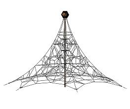 Raumnetzpyramide SPIDER 6