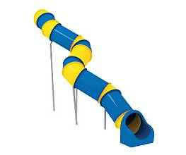 Röhrenrutsche Podesthöhe: 360 cm