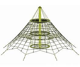 Seilnetz-Pyramide Dino 2