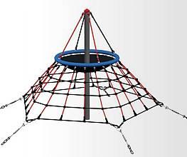 Seilnetz-Pyramide Dino Mini