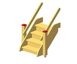 Treppe Spielinsel